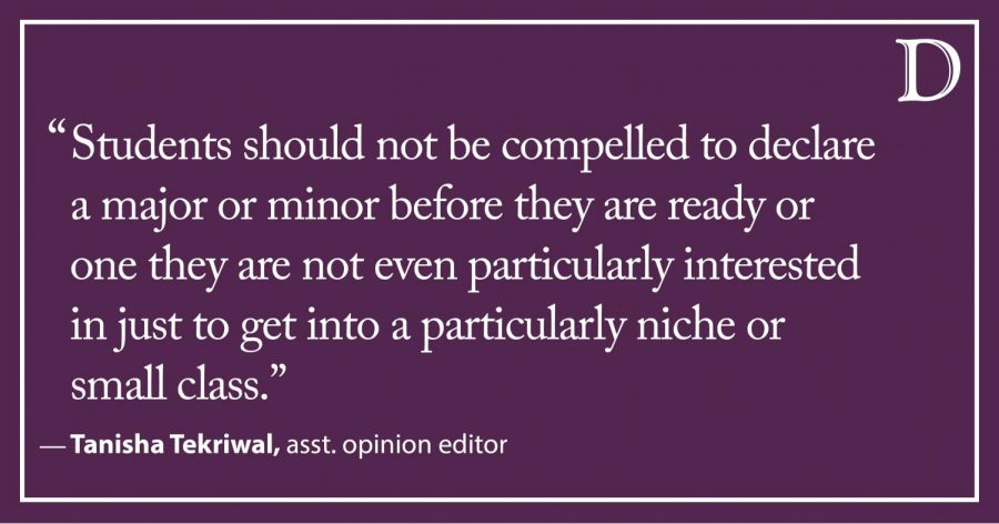 Tekriwal: Class Registration Dilemmas