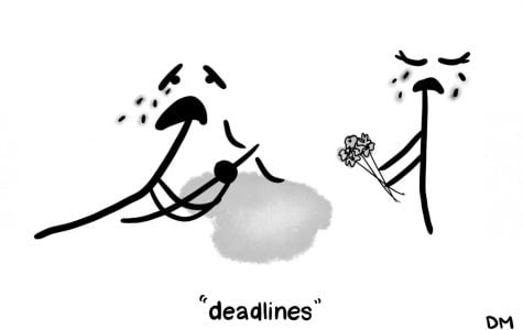 Delaney's Sunday Cartoon: Deadlines