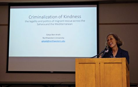 Galya Ben-Arieh lectures on criminalization of kindness