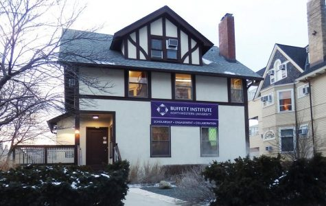 The Buffett Institute for Global Affairs, 1902 Sheridan Road. NU Buffett hosted a webinar Tuesday with anthropology researcher and prof. Adia Benton to discuss the COVID-19 pandemic.