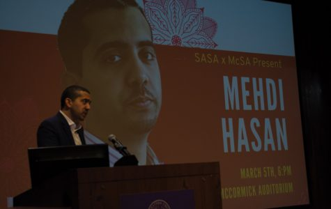 South Asian Students Alliance and Muslim-cultural Students Association host journalist Mehdi Hasan