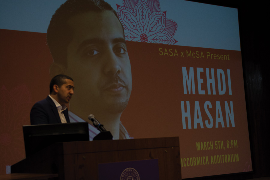 +Journalist+and+political+commentator+Mehdi+Hasan+speaks+about+global+Islamophobia+during+a+co-sponsored+SASA+and+McSA+event.%0A