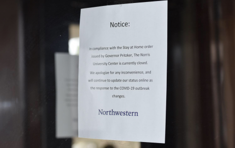 The Norris University Center will be closed through April 7.