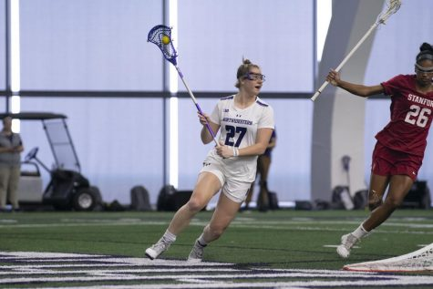 Lacrosse: Northwestern pulls off comeback against Stanford