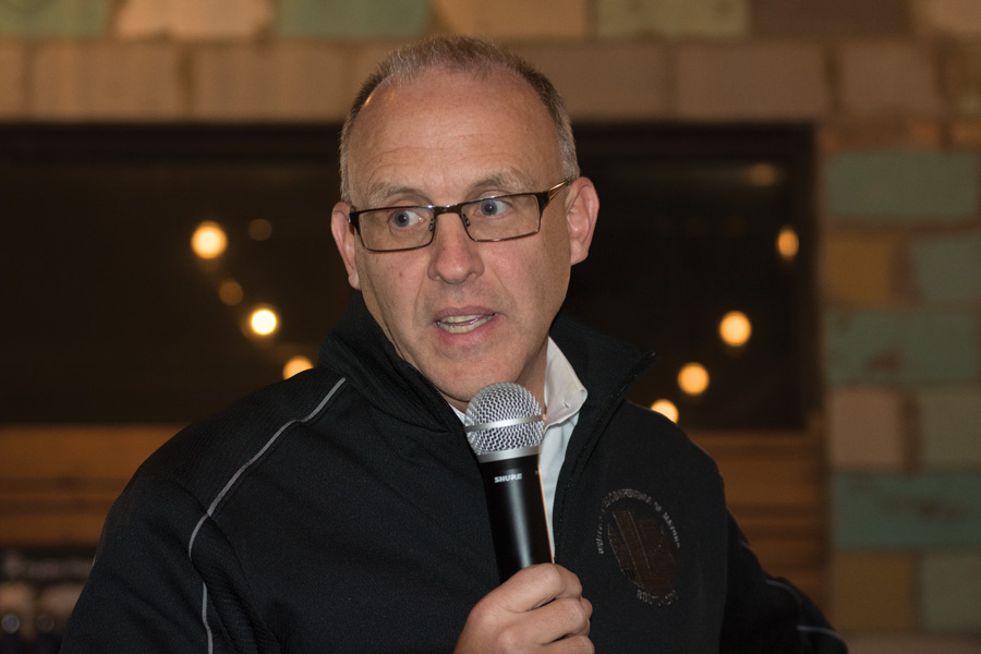 Mayor Steve Hagerty. Hagerty was scheduled to host the Mayor's State of the City Luncheon on Friday, but the event was canceled as a preventative measure to protect Evanston residents from the novel coronavirus.
