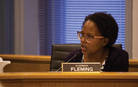 Ald. Cicely Fleming (9th). Fleming expressed concerns pertaining to complaints included in the Human Services Committee police report.