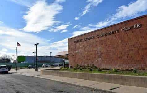The old Robert Crown Community Center. The newly renovated center's gymnasium will be named after the Logan Family.