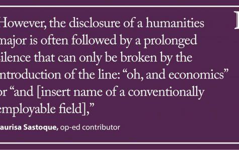 Sastoque: Stop invalidating humanities majors