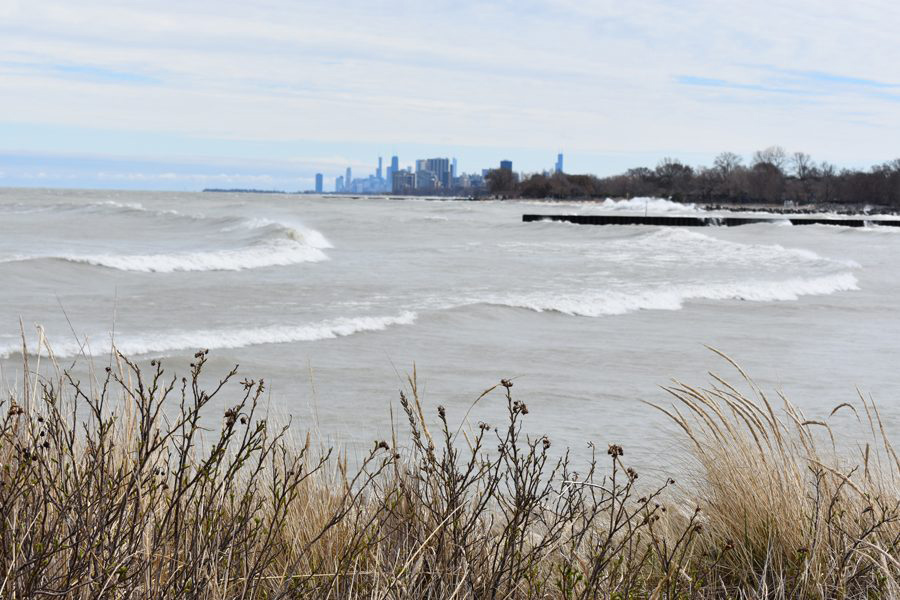 Lake Michigan. Evanston's lakefront stabilization and mitigation efforts could cost around $46 million, said Evanston Division Fire Chief Kim Kull.