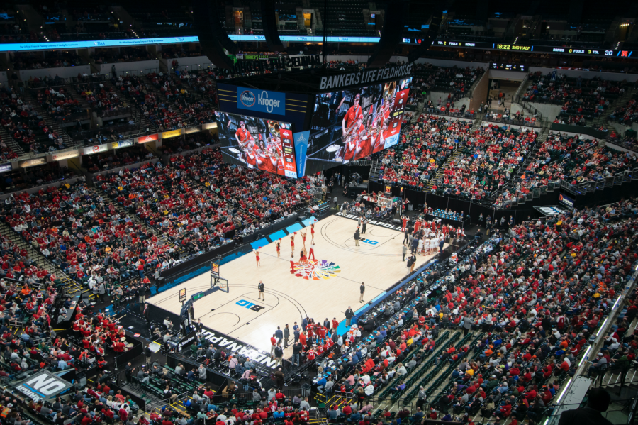 The Big Ten Men's Basketball Tournament at Bankers Life Fieldhouse. Northwestern athletics has no update on the status of its upcoming athletic events.