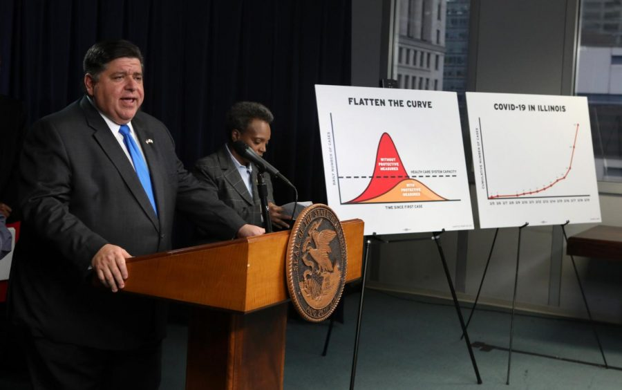 Gov. J.B. Pritzker announces