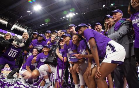 Captured: Northwestern celebrates first Big Ten title since 1990