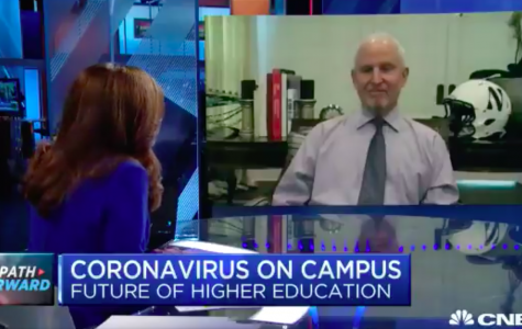 University President Morton Schapiro on CNBC's The Exchange. Schapiro said Northwestern is exploring possibilities to safely open campus for the fall.