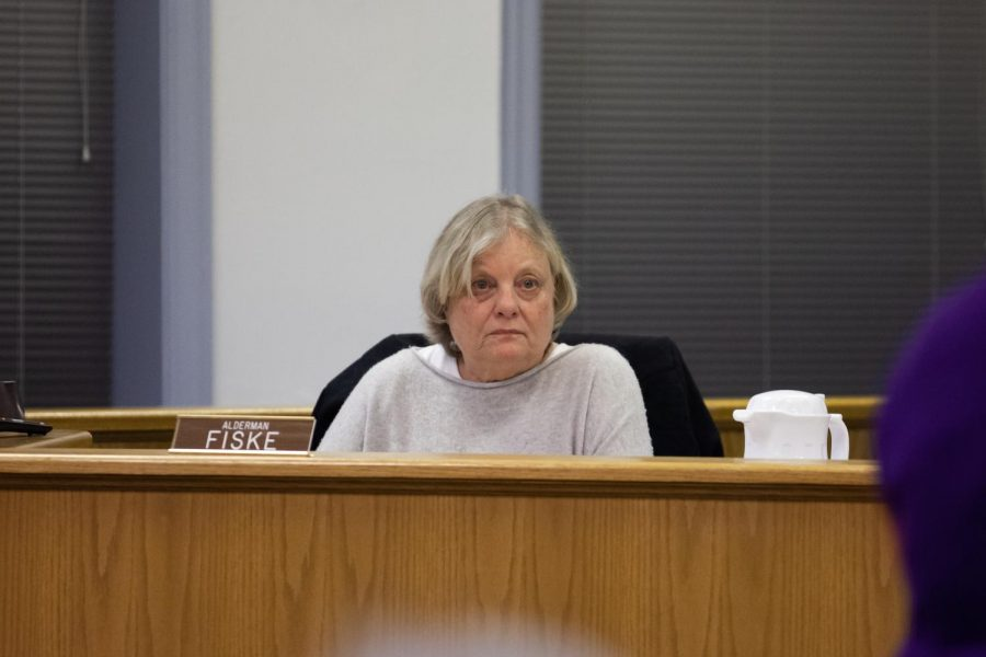 Ald. Judy Fiske (1st). Fiske voted against the plans for a possible high rise to be located at 605 Davis St. during Monday's Planning and Development Committee meeting.