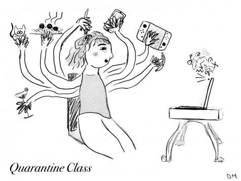 Delaney's Sunday Cartoon: Quarantine Class