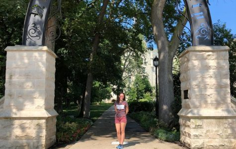 (Photo courtesy Joanne Haner) Joanne Haner, a senior at American Heritage School in Florida, was accepted into NU's Class of 2024. She must accept or reject her admissions offer by May 1.
