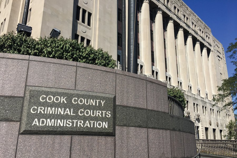 The Cook County Criminal Courts Administration Building, next to the George N. Leighton Criminal Court Building in Chicago. Lathem has pleaded not guilty to charges that he and former Oxford University employee Andrew Warren stabbed Trenton Cornell-Duranleau to death.