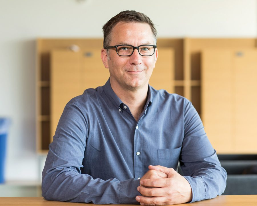 Matthias Doepke. The Northwestern economics professor spoke at an Institute for Policy Research event about the impact of COVID-19 on gender equality and the workforce.