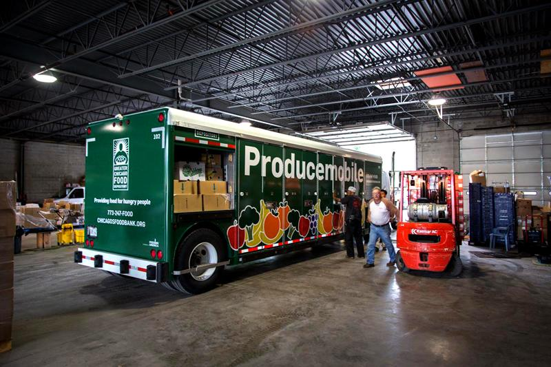 Producemobile. The community food resource will continue to operate to address the need of food insecure residents.