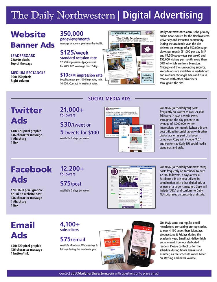 Digital Advertising – The Daily Northwestern