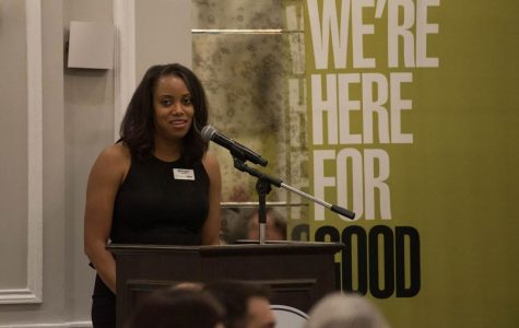 Evanston Community Foundation president and CEO Monique Jones. ECF has coordinated the Evanston Community Rapid Response Fund to help partners respond to the impacts of coronavirus.