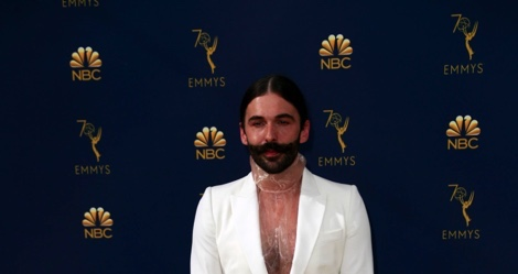 Jonathan Van Ness at the 70th Primetime Emmy Awards at the Microsoft Theater in Los Angeles on Monday, Sept. 17, 2018. Van Ness will be speaking at a virtual Q&A on May 7 as part of A&O's Spring Speaker Series.