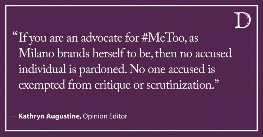 Augustine: #MeToo applies to Joe Biden