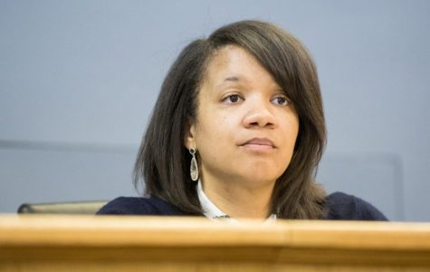 Ald. Robin Rue Simmons (5th). Rue Simmons hosted a Thursday town hall to discuss Evanston's reparations fund.