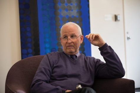 Northwestern President Morton Schapiro. At a Wednesday faculty assembly, Schapiro said the University plans to increase the amount of money utilized from the endowment from 5 to 6 percent.