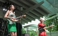 The Regrettes. The band played a 30-minute set at this year's Dillo Day.