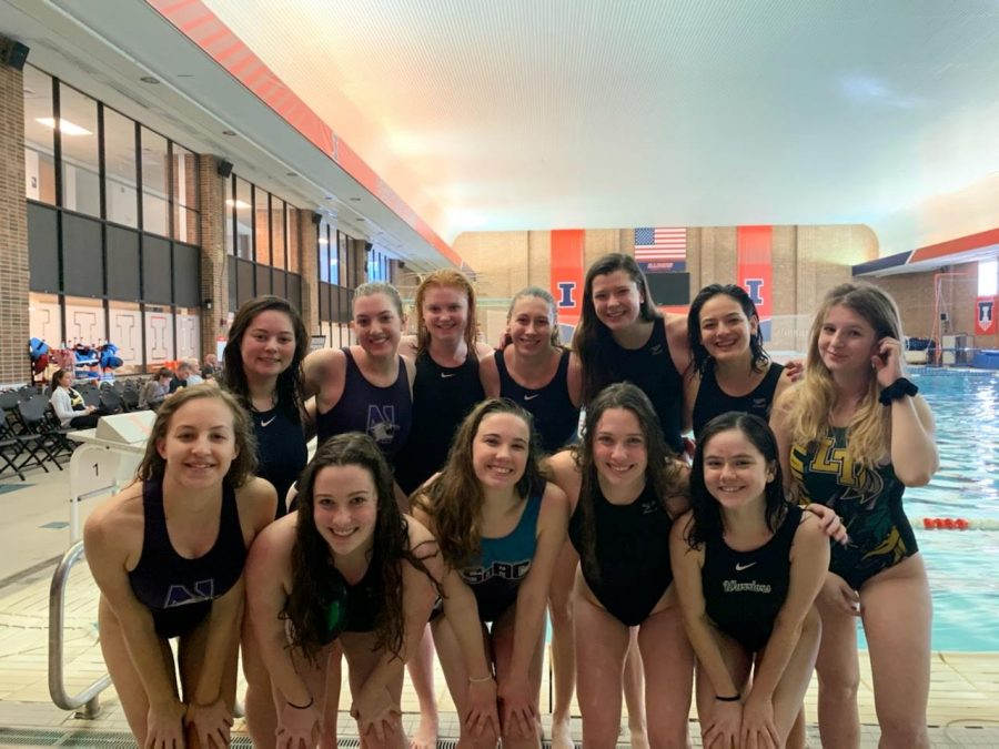 The+women+of+NU%E2%80%99s+Club+Water+Polo+team+at+this+year%E2%80%99s+%E2%80%9CWild+Bill+Classic%E2%80%9D+at+the+University+of+Illinois.