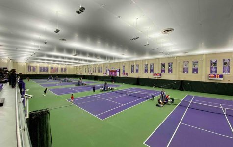 Combe Tennis Center in Evanston, the indoor home of Wildcat tennis. Northwestern was off to a 10-5 start before its season was canceled due to COVID-19.