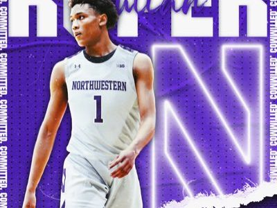 Julian Roper became the first commitment in Northwestern's 2021 recruiting class on Monday. The Michigan native hopes to help convince more top talent to come to Evanston.