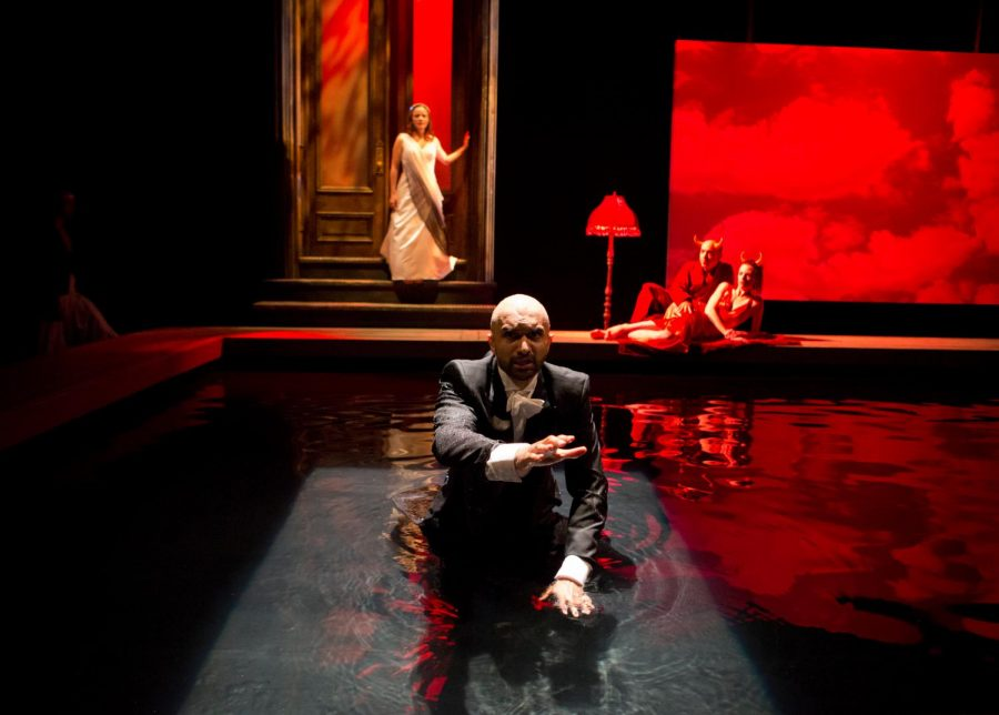 "The 2012 production of ""Metamorphoses"" at Lookingglass Theatre Company. The theater company was founded by Northwestern alums after an experimental production of ""Alice in Wonderland"" in 1987."