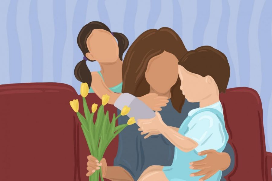 """Celebrating Mother's Day amidst stay-at-home orders made the holiday look and feel different this year, students said. """"It'll be more just us trying to be our best selves and make sure she knows we appreciate her,"""" Bienen senior Emma Rothfield said."""