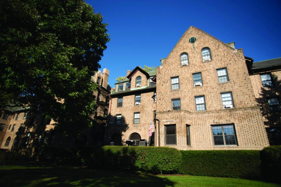 Sigma Alpha Epsilon fraternity's house on Northwestern's campus. On Monday, the University's Interfraternity Council voted against making the fraternity a full member.
