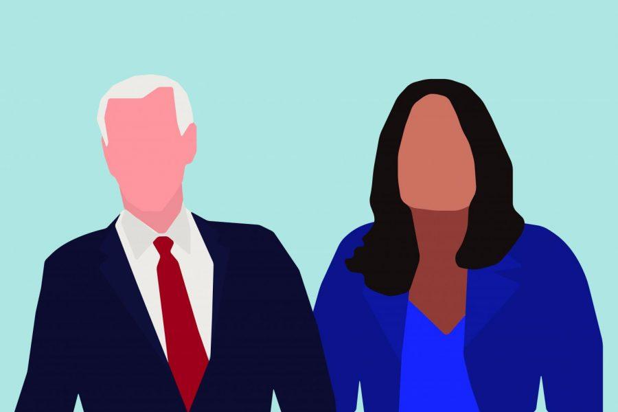 Sen. Tammy Duckworth (D-Ill.) and Vice President Joe Biden.