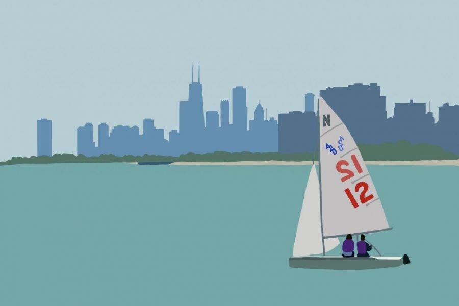 After their spring season was cancelled to the COVID-19 pandemic, the Wildcats have turned to virtual sailing to keep their skills sharp.