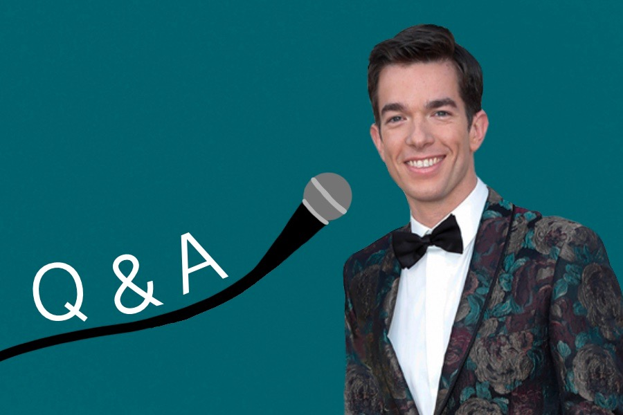 Comedian John Mulaney shared advice with Northwestern students through Zoom during a Q&A on Monday night presented by A&O Productions.