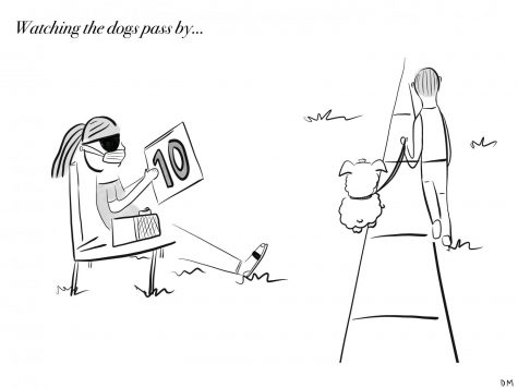 Delaney's Sunday Cartoon: Quarantine Entertainment
