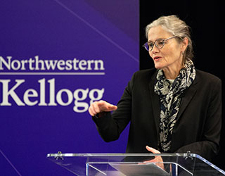 Interim provost Kathleen Hagerty. Hagerty spoke with The Daily about remote instruction, tuition reductions and other topics concerning Fall Quarter.
