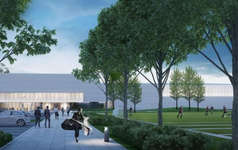 The new Robert Crown Community Center. State legislators committed an additional $500,000 in Gov. J.B. Pritzker's Rebuild Illinois bill.