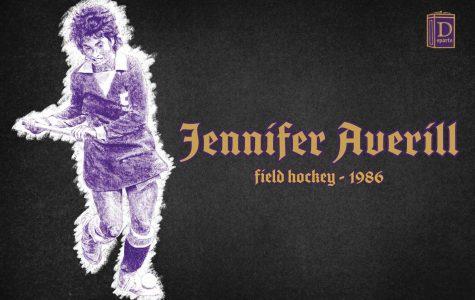 Northwestern Sports Time Machine: Jennifer Averill, 1986
