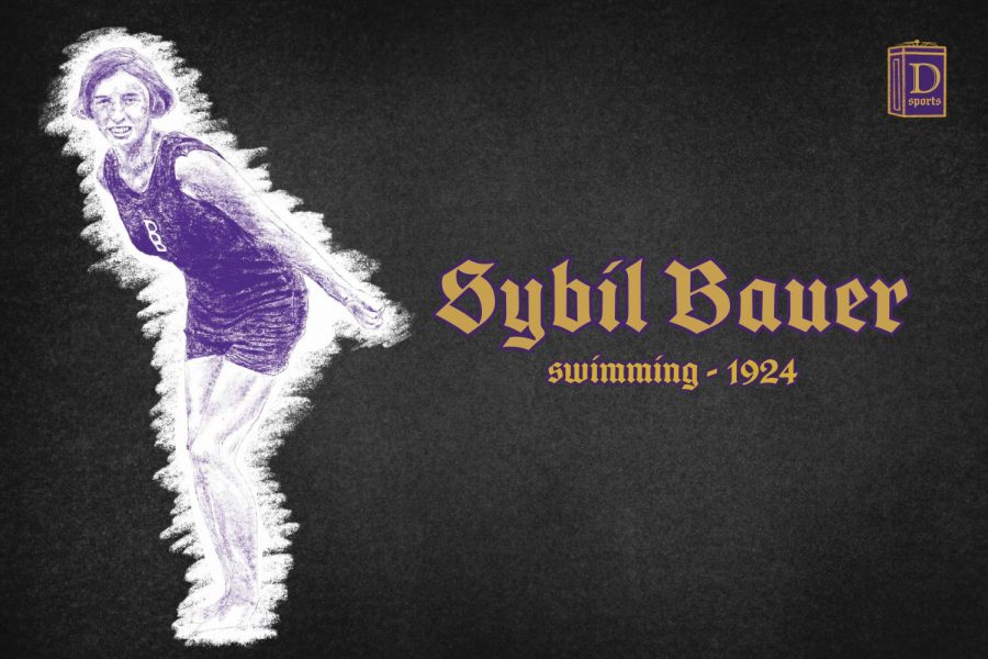 Northwestern Sports Time Machine: Sybil Bauer, 1924