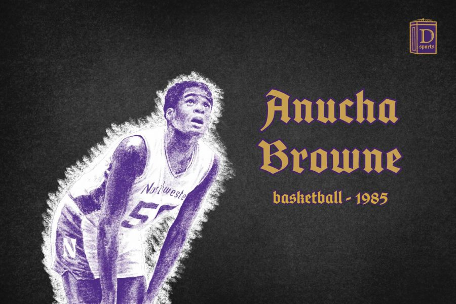 Northwestern Sports Time Machine: Anucha Browne, 1984-85