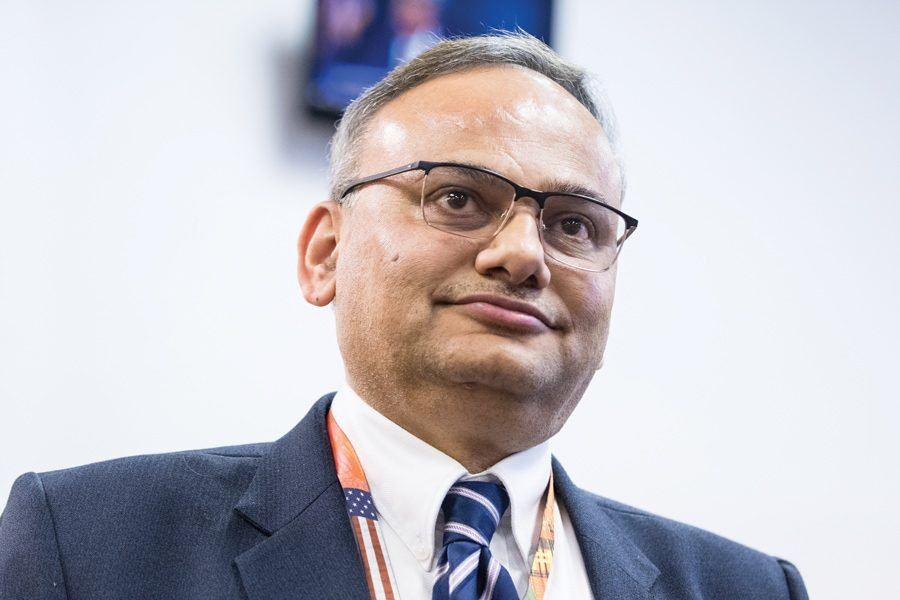 Chief+Financial+Officer+Hitesh+Desai.+Desai+projected+a+%2412+million+revenue+loss+in+the+2020+budget%2C+a+%241.4+million+jump+since+the+staff%E2%80%99s+last+projection+to+City+Council.