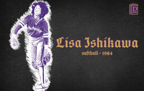 Northwestern Sports Time Machine: Lisa Ishikawa, 1984