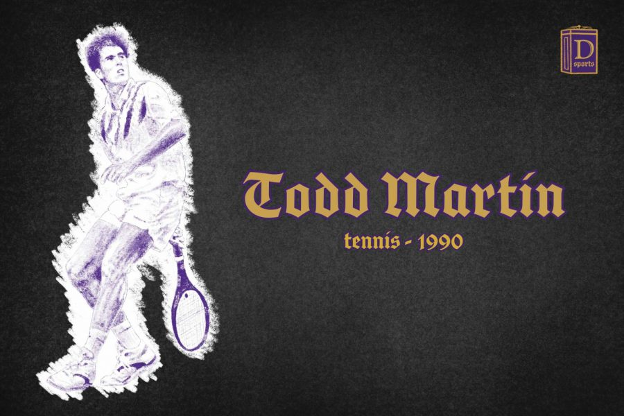 Northwestern Sports Time Machine: Todd Martin, 1990