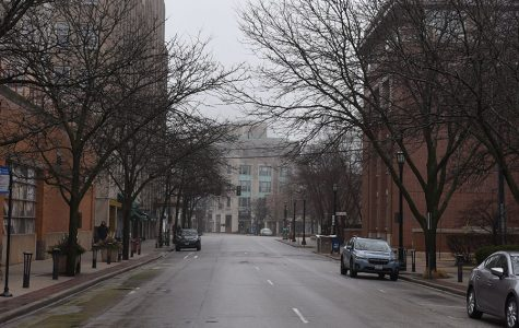 """The city of Evanston under the stay-at-home order. Evanston, along with the rest of the state, is now set to enter Phase 4 on Friday. """"We've been able to make it to Phase 4 and we want to stay in Phase 4,"""" said Olsen. """"I beg you to remain diligent.. remind your staff and your guests."""""""