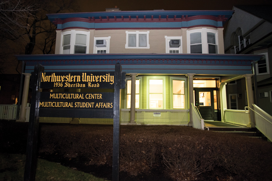 Northwestern's Multicultural Center at 1936 Sheridan Rd. MSA launched the  Indigenuous Reading Series in Fall, a program that will continue through Spring.